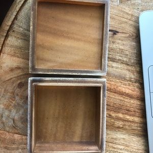 Anthropologie Storage & Organization - 3/$15 Anthropologie agate rustic box